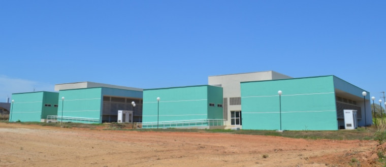 Complexo Laboratorial de Química Ambiental no campus de Gurupi