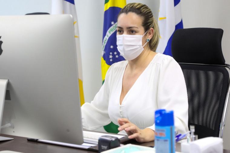 """A prefeita criticou a """"desorganização"""" do Ministério da Saúde"""