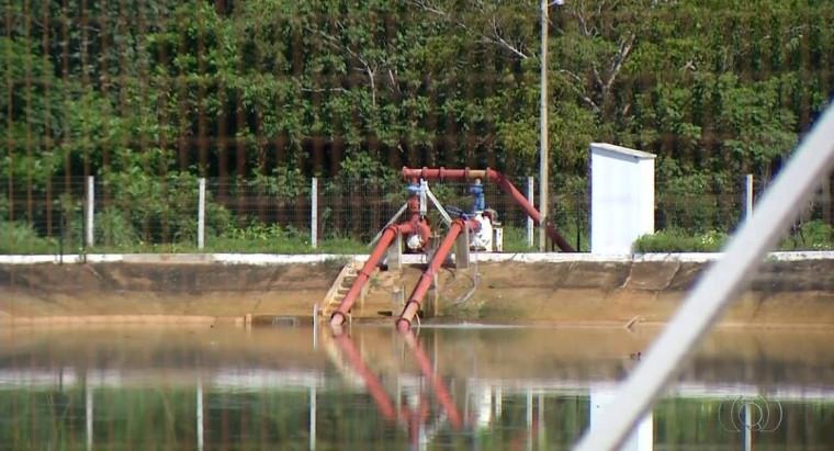 Estações de tratamento de esgoto na região sul de Palmas