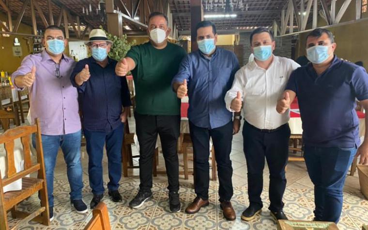 Dimas, Eduardo Gomes e outras lideranças