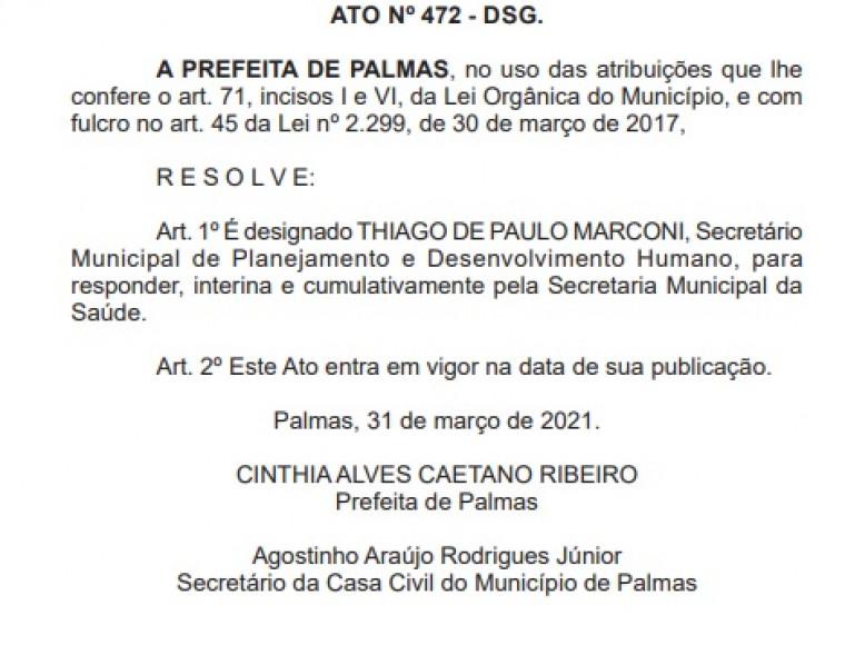Thiago de Paulo Marconi na Saúde