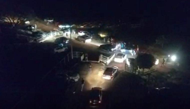 Outras 11 festas foram interrompidas na cidade durante a operação Tolerância Zero