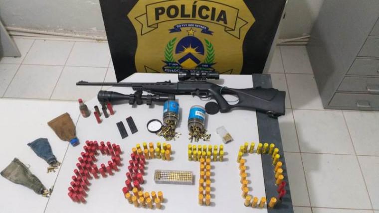 Ação da polícia foi em Taguatinga