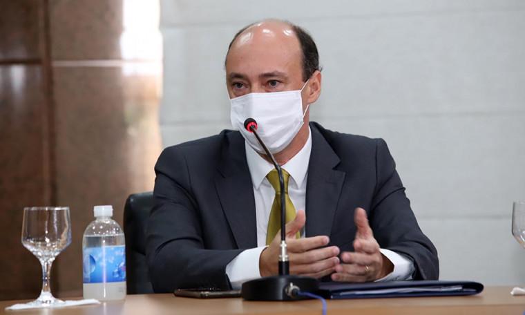 Secretário Cristiano Sampaio: 37% dos cargos estão vagos na Polícia Civil