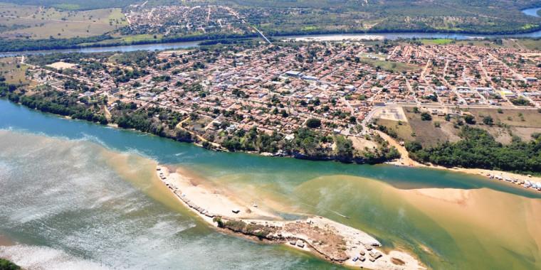 Município é banhado por dois grandes rios (Sono e Tocantins)