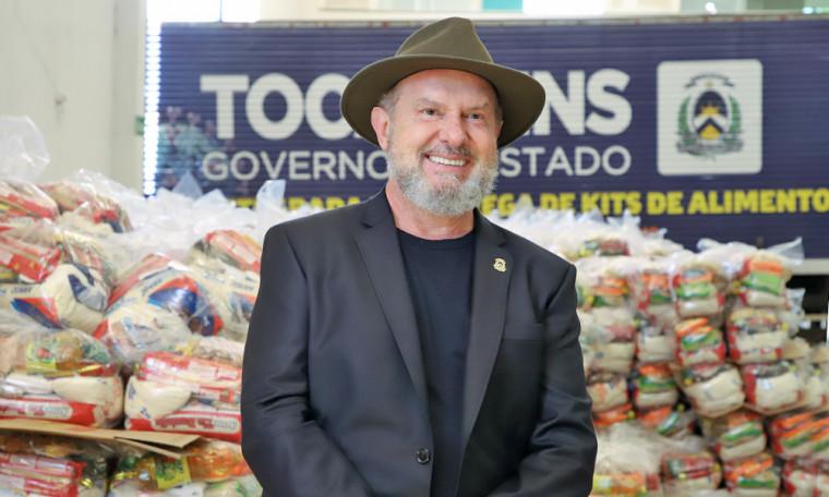 São 270 toneladas de alimentos para atender cerca de 20 mil famílias em 42 municípios do Estado