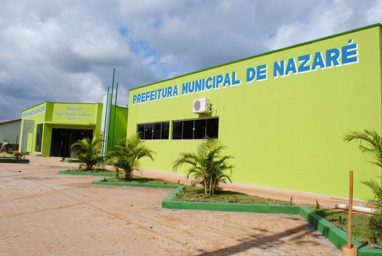 Prefeitura de Nazaré, no Bico do Papagaio