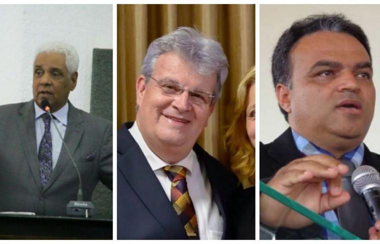 Pastores Hermes Vieira Neto, Glaúcio Coraiola e Claudemir Lopes