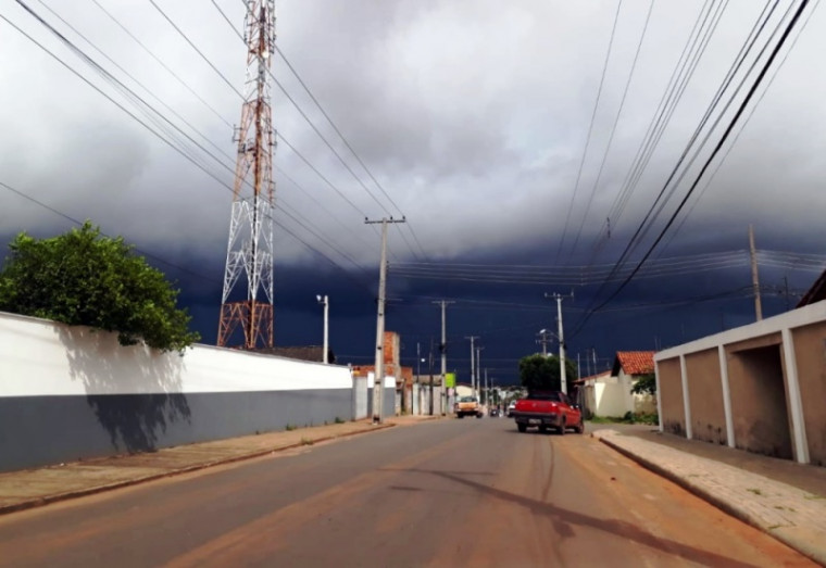 Previsão de muita chuva