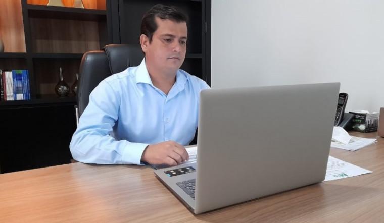 Presidente da ATM e prefeito de Talismã, Diogo Borges