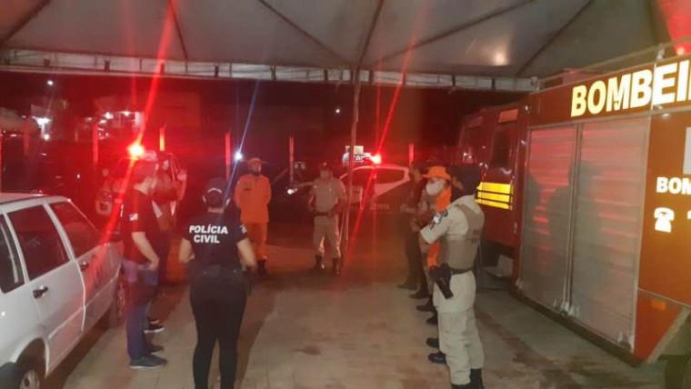 Polícia Civil e Corpo de Bombeiros participam da operação