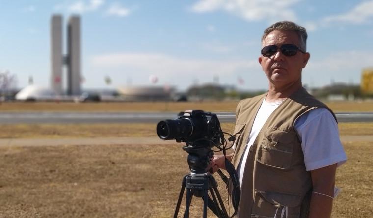 Hélio Brito, cineasta tocantinense está à frente da produção da série.