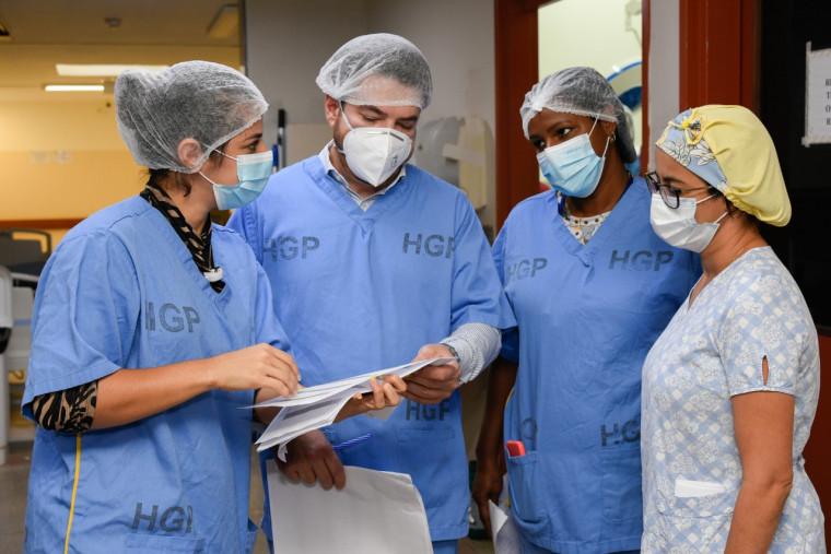 Vistoria no HGP constatou vários problemas e ausência de 4 médicos no plantão