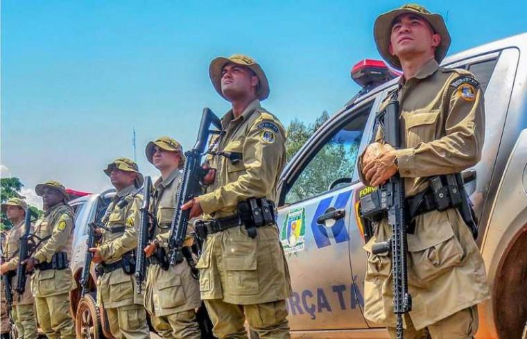 Policiais militares do Tocantins