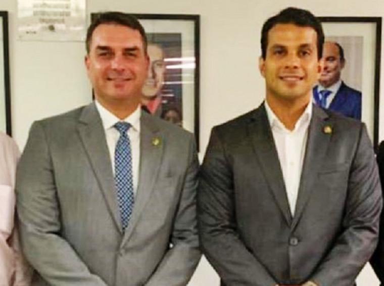 Irajá e Flávio Bolsonaro são bem próximos