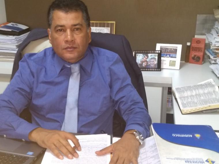 Jorge Couto, presidente do Sindifisco e Audifisco do Tocantins