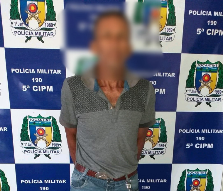 Idoso foi preso pela Polícia Militar