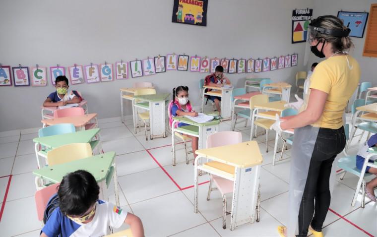 As escolas e creches municipais de Araguaína retornaram às atividades no início de fevereiro