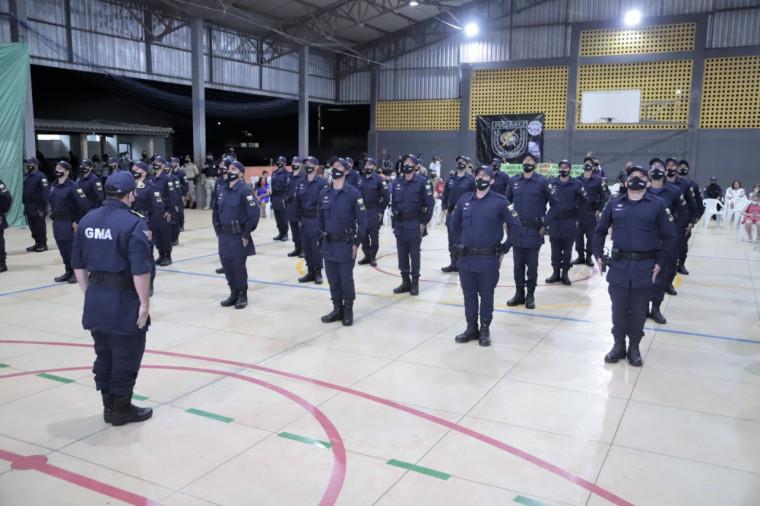 Formatura dos aprovados no concurso da Guarda Municipal de Araguaína