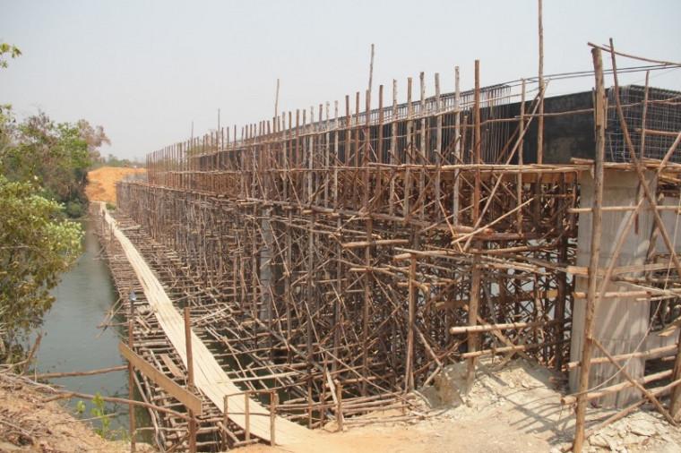 Ponte vai melhorar o escoamento da produção da região
