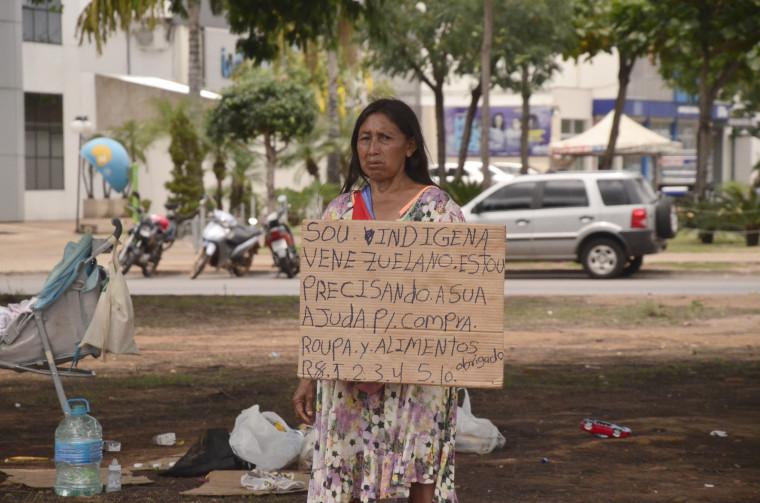 Atualmente são 60 venezuelanos vivendo em situação de vulnerabilidade social