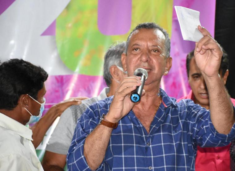 Antonio Andrade, presidente da Assembleia e do PTB no Tocantins