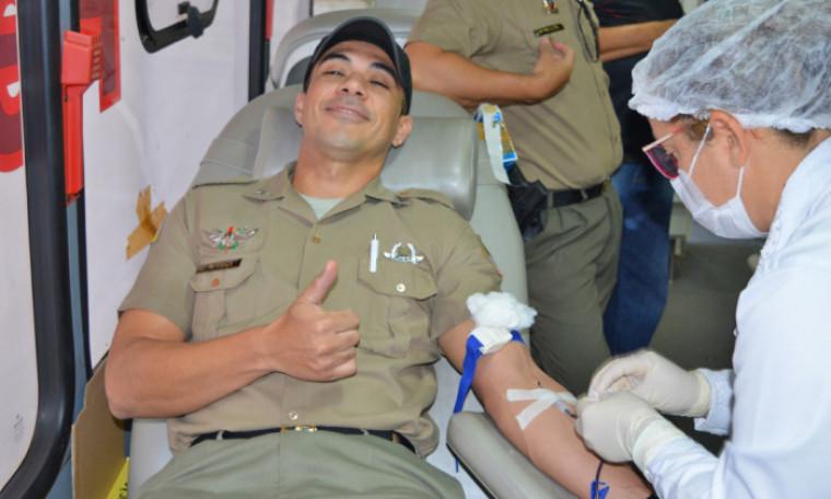 2ª edição da campanha PM Sangue Bom acontece nesta quarta, 02, no 1º Batalhão da PM em Palmas.