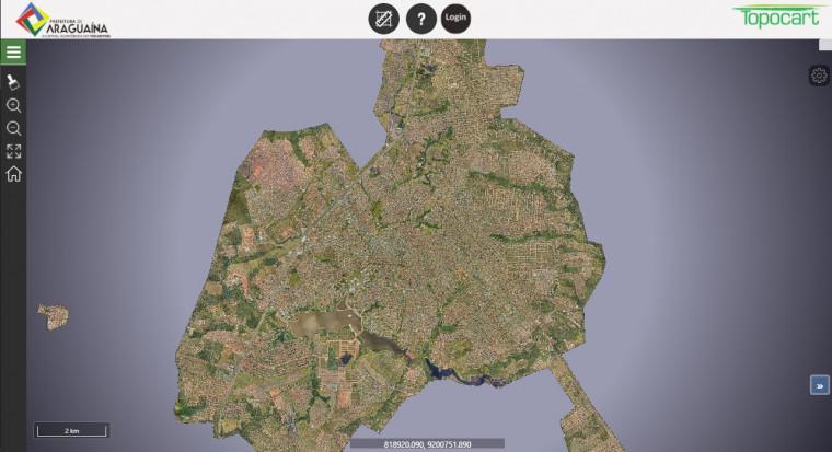 Mapeamento pode ser acessado por qualquer pessoa