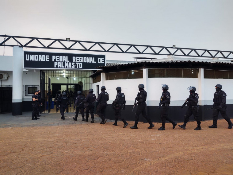 Operação Collapsus do GAECO/MPTO foi para desarticular núcleo do PCC que atuava no Tocantins.