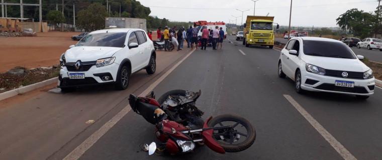 Veículos após acidente