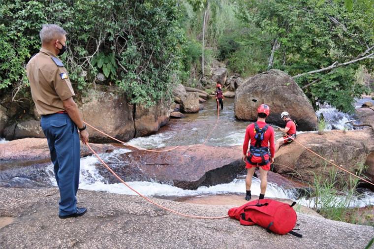 Cachoeira onde o homem desapareceu