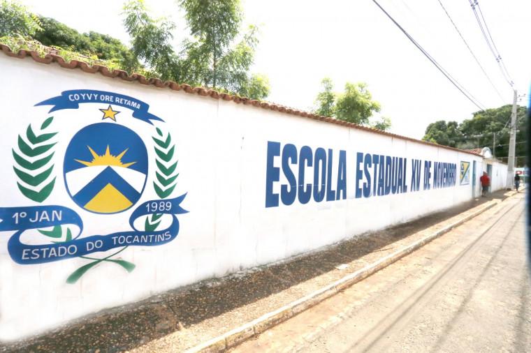 A Escola Estadual Girassol de Tempo Integral XV de novembro, de Tocantinópolis, conquistou 1º lugar