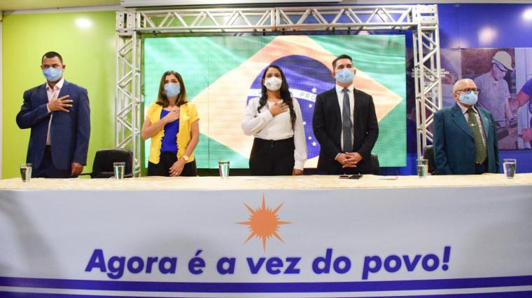 Convenção do PSL foi realizada na noite dessa quarta-feira (16)
