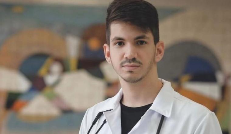 Bruno Calaça estava comemorando a formatura em medicina