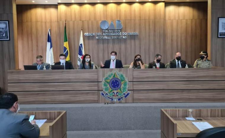 Reunião do conselho da OAB