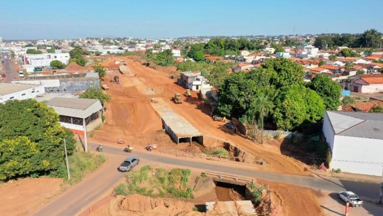 Pontes serão demolidas para a passagem da canalização da Via Norte