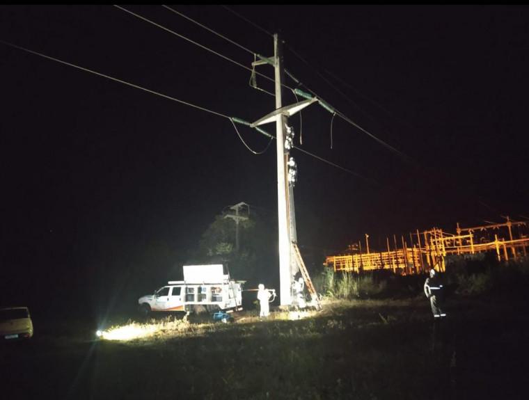 Problema na linha de transmissão ocasionou o apagão