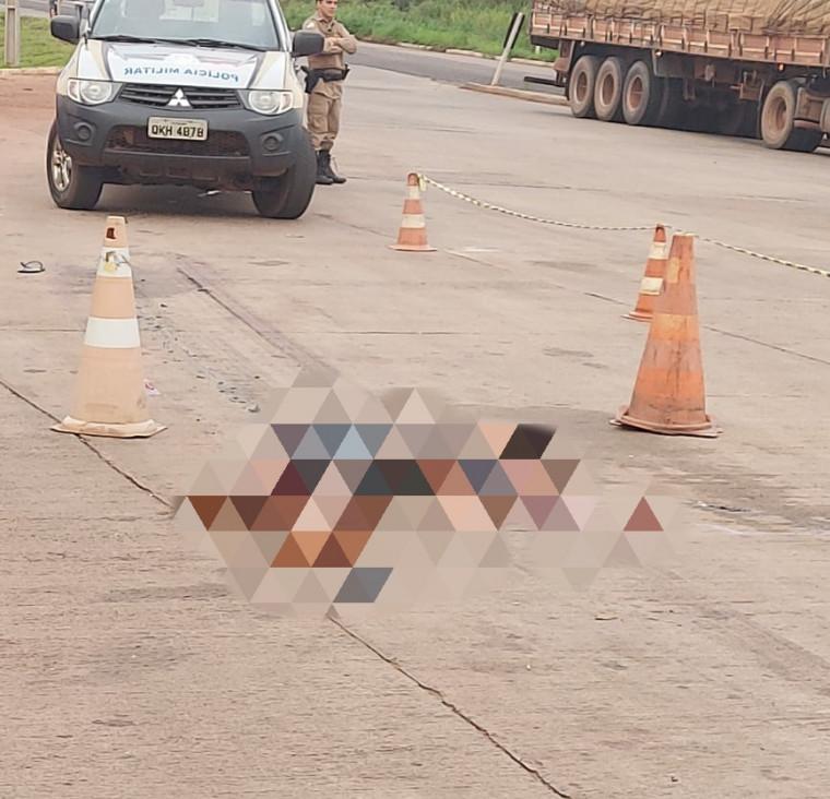 O motorista e nem o caminhão foram localizados
