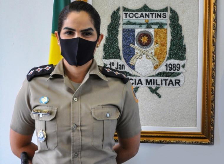 Capitã Louise está lotada atualmente em Porto Nacional