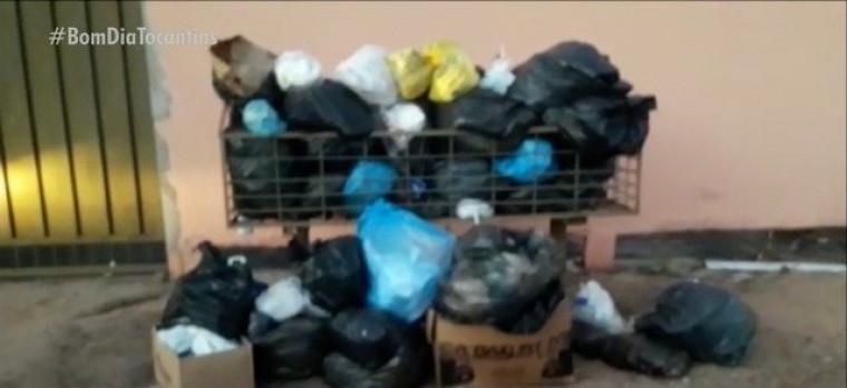 Vários setores de Gurupi estão sem coleta de lixo