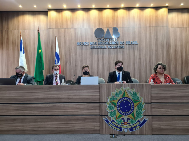 """Retrocesso"", disse o presidente da OAB/TO, Gedeon Pitaluga"