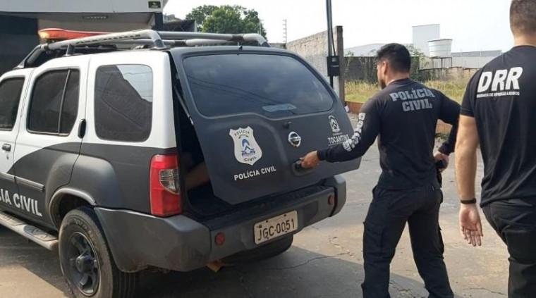 Sete homens foram presos durante a operação
