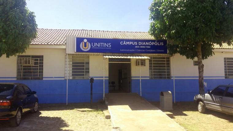 Campus da Unitins em Dianópolis