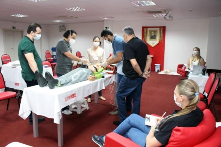 Treinamento no Hospital Dom Orione