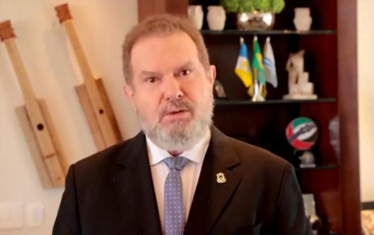 Governador Mauro Carlesse tem 42% de reprovação contra 36% de aprovação