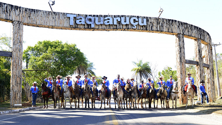 Saída de Taquaruçu na manhã de sábado (7)