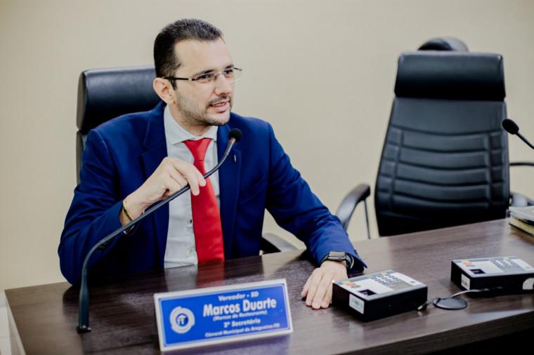Vereador Marcus Duarte (SD)