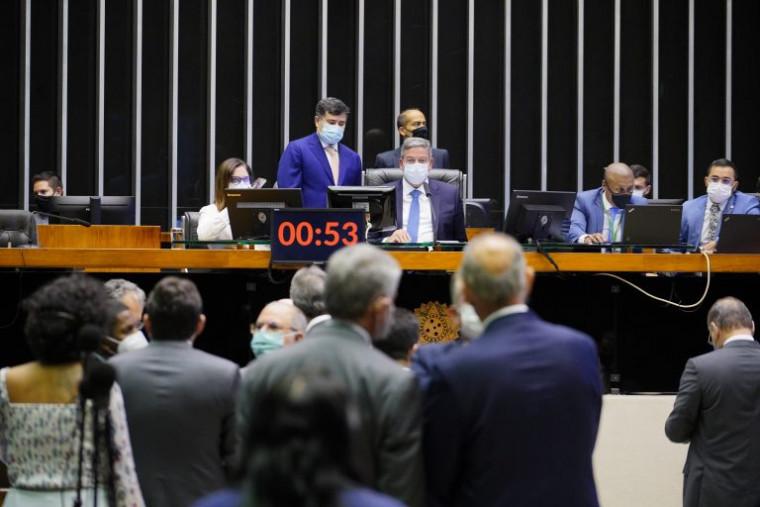 Votação na Câmara dos Deputados, em Brasília