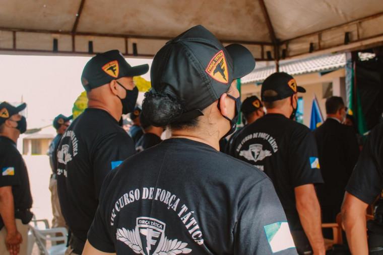 PM inicia XIII Curso de Força Tática do Estado do Tocantins em Araguaína.
