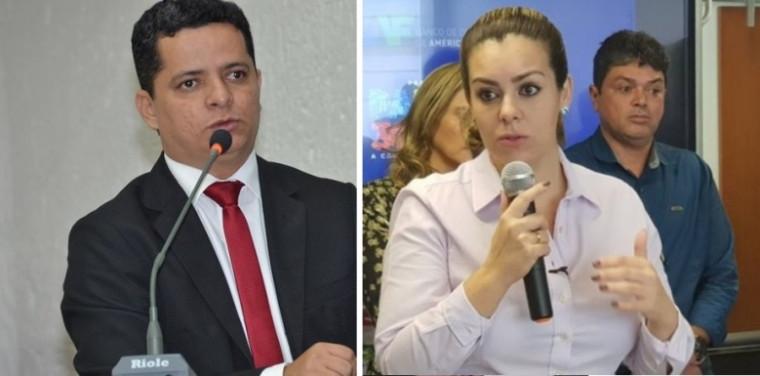 Jorge Frederico e Cinthia Ribeiro